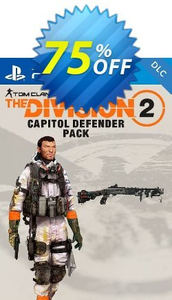 Tom Clancys The Division 2 PS4 - Capitol Defender Pack DLC - EU  Coupon discount Tom Clancys The Division 2 PS4 - Capitol Defender Pack DLC (EU) Deal - Tom Clancys The Division 2 PS4 - Capitol Defender Pack DLC (EU) Exclusive Easter Sale offer for iVoicesoft