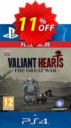 Valiant Hearts: The Great War PS4 - Digital Code Coupon discount Valiant Hearts: The Great War PS4 - Digital Code Deal - Valiant Hearts: The Great War PS4 - Digital Code Exclusive Easter Sale offer for iVoicesoft
