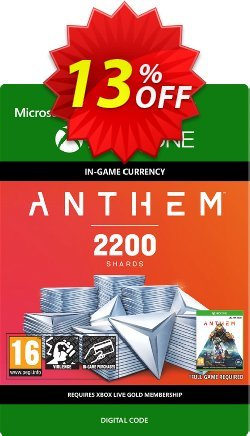 Anthem 2200 Shards Pack Xbox One Coupon discount Anthem 2200 Shards Pack Xbox One Deal - Anthem 2200 Shards Pack Xbox One Exclusive Easter Sale offer for iVoicesoft