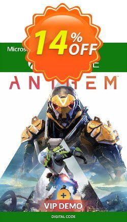 Anthem Xbox One + VIP Demo Coupon discount Anthem Xbox One + VIP Demo Deal - Anthem Xbox One + VIP Demo Exclusive Easter Sale offer for iVoicesoft