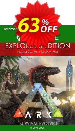 ARK Survival Evolved Explorers Edition Xbox One - UK  Coupon discount ARK Survival Evolved Explorers Edition Xbox One (UK) Deal - ARK Survival Evolved Explorers Edition Xbox One (UK) Exclusive Easter Sale offer for iVoicesoft