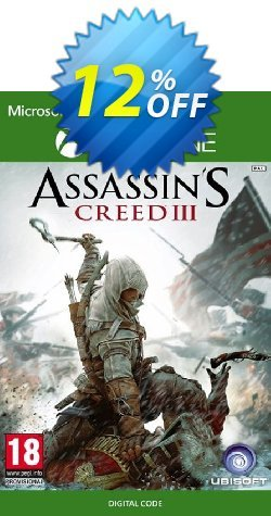 Assassin's Creed 3 Xbox One Coupon discount Assassin's Creed 3 Xbox One Deal - Assassin's Creed 3 Xbox One Exclusive Easter Sale offer for iVoicesoft