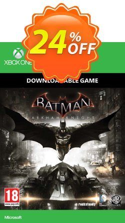 Batman: Arkham Knight Xbox One - Digital Code Coupon discount Batman: Arkham Knight Xbox One - Digital Code Deal - Batman: Arkham Knight Xbox One - Digital Code Exclusive Easter Sale offer for iVoicesoft