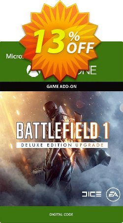 Battlefield 1 Deluxe Edition UPGRADE Xbox One Coupon discount Battlefield 1 Deluxe Edition UPGRADE Xbox One Deal - Battlefield 1 Deluxe Edition UPGRADE Xbox One Exclusive Easter Sale offer for iVoicesoft