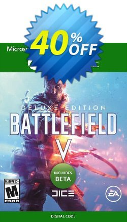 Battlefield V 5 Deluxe Edition Xbox One + BETA Coupon discount Battlefield V 5 Deluxe Edition Xbox One + BETA Deal - Battlefield V 5 Deluxe Edition Xbox One + BETA Exclusive Easter Sale offer for iVoicesoft