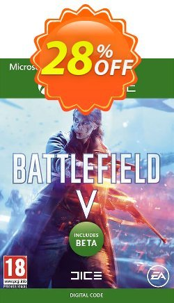 Battlefield V 5 Xbox One + BETA Coupon discount Battlefield V 5 Xbox One + BETA Deal - Battlefield V 5 Xbox One + BETA Exclusive Easter Sale offer for iVoicesoft
