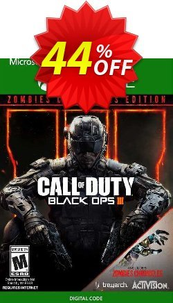 Call of Duty: Black Ops III - Zombies Chronicles Edition Xbox One - UK  Coupon discount Call of Duty: Black Ops III - Zombies Chronicles Edition Xbox One (UK) Deal - Call of Duty: Black Ops III - Zombies Chronicles Edition Xbox One (UK) Exclusive Easter Sale offer for iVoicesoft