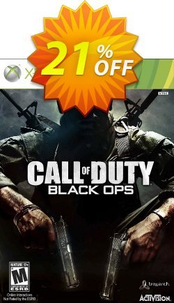 Call of Duty - COD Black Ops Xbox 360 Coupon discount Call of Duty (COD) Black Ops Xbox 360 Deal - Call of Duty (COD) Black Ops Xbox 360 Exclusive Easter Sale offer for iVoicesoft