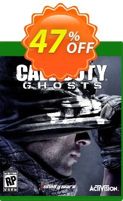 Call of Duty - COD : Ghosts Xbox One - Digital Code Coupon discount Call of Duty (COD): Ghosts Xbox One - Digital Code Deal - Call of Duty (COD): Ghosts Xbox One - Digital Code Exclusive Easter Sale offer for iVoicesoft