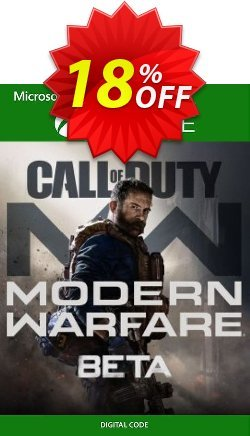Call of Duty Modern Warfare Beta Xbox One Coupon discount Call of Duty Modern Warfare Beta Xbox One Deal - Call of Duty Modern Warfare Beta Xbox One Exclusive Easter Sale offer for iVoicesoft