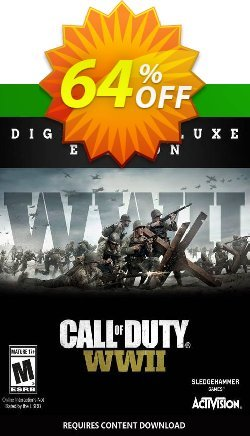Call of Duty: WWII - Digital Deluxe Xbox One - UK  Coupon discount Call of Duty: WWII - Digital Deluxe Xbox One (UK) Deal - Call of Duty: WWII - Digital Deluxe Xbox One (UK) Exclusive Easter Sale offer for iVoicesoft
