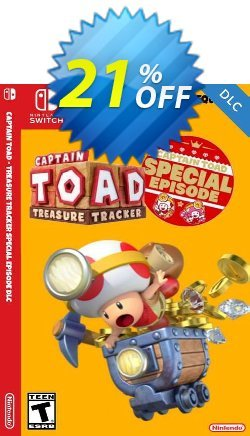 Captain Toad Treasure Tracker - Special Episode Switch DLC Coupon discount Captain Toad Treasure Tracker - Special Episode Switch DLC Deal - Captain Toad Treasure Tracker - Special Episode Switch DLC Exclusive Easter Sale offer for iVoicesoft