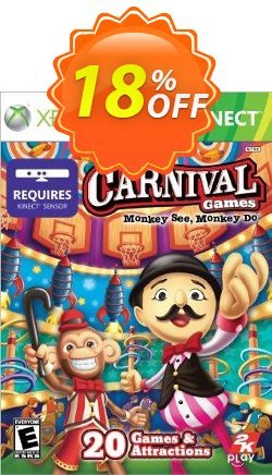Carnival Games Monkey See Monkey Do Xbox 360 - Digital Code Coupon discount Carnival Games Monkey See Monkey Do Xbox 360 - Digital Code Deal - Carnival Games Monkey See Monkey Do Xbox 360 - Digital Code Exclusive Easter Sale offer for iVoicesoft