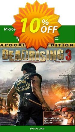 Dead Rising 3: Apocalypse Edition Xbox One Coupon discount Dead Rising 3: Apocalypse Edition Xbox One Deal - Dead Rising 3: Apocalypse Edition Xbox One Exclusive Easter Sale offer for iVoicesoft