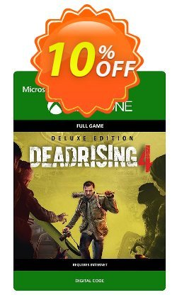 Dead Rising 4 Deluxe Edition Xbox One Coupon discount Dead Rising 4 Deluxe Edition Xbox One Deal - Dead Rising 4 Deluxe Edition Xbox One Exclusive Easter Sale offer for iVoicesoft