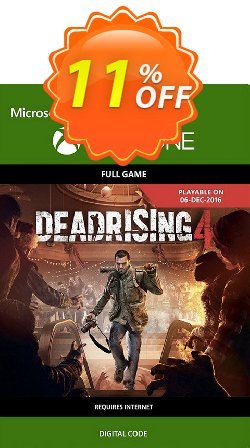 Dead Rising 4 Xbox One Coupon discount Dead Rising 4 Xbox One Deal - Dead Rising 4 Xbox One Exclusive Easter Sale offer for iVoicesoft