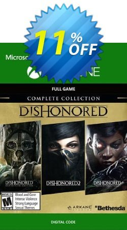 Dishonored Complete Collection Xbox One Coupon discount Dishonored Complete Collection Xbox One Deal - Dishonored Complete Collection Xbox One Exclusive Easter Sale offer for iVoicesoft