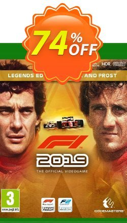 F1 2019 Legends Edition Senna and Prost Xbox One - US  Coupon discount F1 2021 Legends Edition Senna and Prost Xbox One (US) Deal. Promotion: F1 2021 Legends Edition Senna and Prost Xbox One (US) Exclusive Easter Sale offer for iVoicesoft