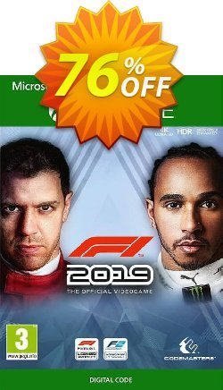 F1 2019 Xbox One - US  Coupon discount F1 2021 Xbox One (US) Deal. Promotion: F1 2021 Xbox One (US) Exclusive Easter Sale offer for iVoicesoft