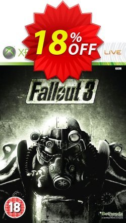 Fallout 3 Xbox 360 - Digital Code Coupon discount Fallout 3 Xbox 360 - Digital Code Deal - Fallout 3 Xbox 360 - Digital Code Exclusive Easter Sale offer for iVoicesoft