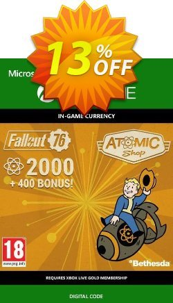 Fallout 76 - 2400 Atoms Xbox One Coupon discount Fallout 76 - 2400 Atoms Xbox One Deal - Fallout 76 - 2400 Atoms Xbox One Exclusive Easter Sale offer for iVoicesoft