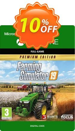 Farming Simulator 19: Premium Edition Xbox One Coupon discount Farming Simulator 19: Premium Edition Xbox One Deal - Farming Simulator 19: Premium Edition Xbox One Exclusive Easter Sale offer for iVoicesoft