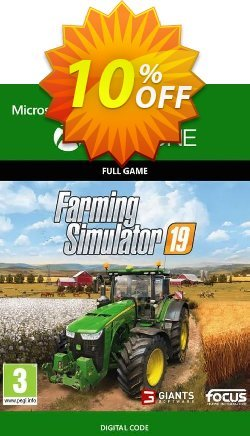 Farming Simulator 19 Xbox One Coupon discount Farming Simulator 19 Xbox One Deal - Farming Simulator 19 Xbox One Exclusive Easter Sale offer for iVoicesoft