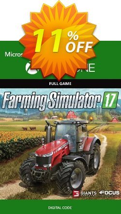 Farming Simulator 2017 Xbox One Coupon discount Farming Simulator 2017 Xbox One Deal - Farming Simulator 2017 Xbox One Exclusive Easter Sale offer for iVoicesoft