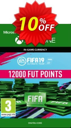Fifa 19 - 12000 FUT Points - Xbox One  Coupon discount Fifa 19 - 12000 FUT Points (Xbox One) Deal - Fifa 19 - 12000 FUT Points (Xbox One) Exclusive Easter Sale offer for iVoicesoft