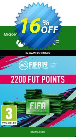 Fifa 19 - 2200 FUT Points - Xbox One  Coupon discount Fifa 19 - 2200 FUT Points (Xbox One) Deal - Fifa 19 - 2200 FUT Points (Xbox One) Exclusive Easter Sale offer for iVoicesoft