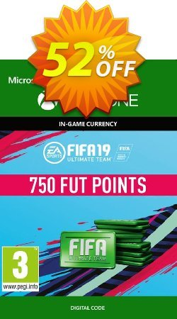 Fifa 19 - 750 FUT Points - Xbox One  Coupon discount Fifa 19 - 750 FUT Points (Xbox One) Deal - Fifa 19 - 750 FUT Points (Xbox One) Exclusive Easter Sale offer for iVoicesoft