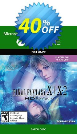 Final Fantasy X/X-2 HD Remaster Xbox One - UK  Coupon discount Final Fantasy X/X-2 HD Remaster Xbox One (UK) Deal. Promotion: Final Fantasy X/X-2 HD Remaster Xbox One (UK) Exclusive Easter Sale offer for iVoicesoft