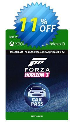 Forza Horizon 3 Car Pass Xbox One/PC Coupon discount Forza Horizon 3 Car Pass Xbox One/PC Deal - Forza Horizon 3 Car Pass Xbox One/PC Exclusive Easter Sale offer for iVoicesoft
