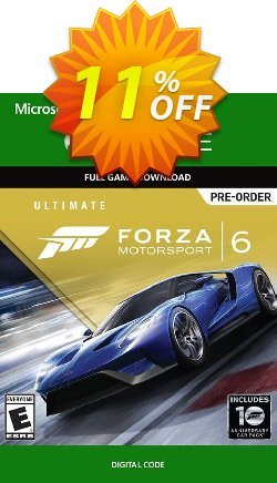 Forza Motorsport 6 Ultimate Edition Xbox One - Digital Code Coupon discount Forza Motorsport 6 Ultimate Edition Xbox One - Digital Code Deal - Forza Motorsport 6 Ultimate Edition Xbox One - Digital Code Exclusive Easter Sale offer for iVoicesoft