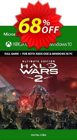 Halo Wars 2 Ultimate Edition Xbox One/PC Coupon discount Halo Wars 2 Ultimate Edition Xbox One/PC Deal - Halo Wars 2 Ultimate Edition Xbox One/PC Exclusive Easter Sale offer for iVoicesoft