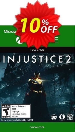Injustice 2 Xbox One Coupon discount Injustice 2 Xbox One Deal - Injustice 2 Xbox One Exclusive Easter Sale offer for iVoicesoft