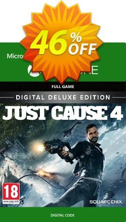 Just Cause 4 Deluxe Edition Xbox One Coupon, discount Just Cause 4 Deluxe Edition Xbox One Deal. Promotion: Just Cause 4 Deluxe Edition Xbox One Exclusive Easter Sale offer for iVoicesoft
