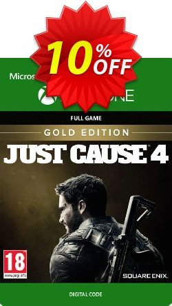 Just Cause 4 Gold Edition Xbox One Coupon discount Just Cause 4 Gold Edition Xbox One Deal - Just Cause 4 Gold Edition Xbox One Exclusive Easter Sale offer for iVoicesoft