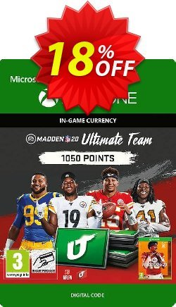 Madden NFL 20 1050 MUT Points Xbox One Coupon discount Madden NFL 20 1050 MUT Points Xbox One Deal - Madden NFL 20 1050 MUT Points Xbox One Exclusive Easter Sale offer for iVoicesoft