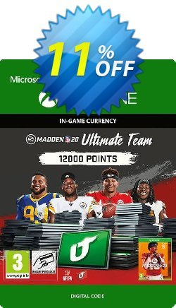 Madden NFL 20 12000 MUT Points Xbox One Coupon discount Madden NFL 20 12000 MUT Points Xbox One Deal - Madden NFL 20 12000 MUT Points Xbox One Exclusive Easter Sale offer for iVoicesoft