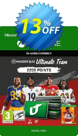 Madden NFL 20 2200 MUT Points Xbox One Coupon discount Madden NFL 20 2200 MUT Points Xbox One Deal - Madden NFL 20 2200 MUT Points Xbox One Exclusive Easter Sale offer for iVoicesoft