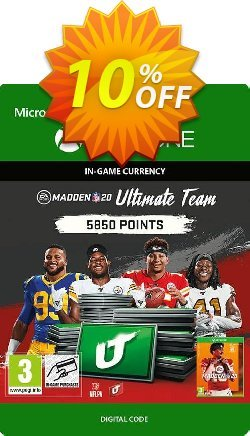 Madden NFL 20 5850 MUT Points Xbox One Coupon discount Madden NFL 20 5850 MUT Points Xbox One Deal - Madden NFL 20 5850 MUT Points Xbox One Exclusive Easter Sale offer for iVoicesoft
