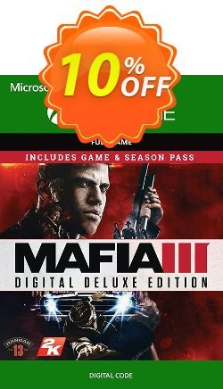 Mafia III 3 Digital Deluxe Xbox One Coupon discount Mafia III 3 Digital Deluxe Xbox One Deal - Mafia III 3 Digital Deluxe Xbox One Exclusive Easter Sale offer for iVoicesoft