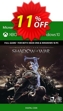 Middle-Earth: Shadow of War Xbox One / PC Coupon discount Middle-Earth: Shadow of War Xbox One / PC Deal - Middle-Earth: Shadow of War Xbox One / PC Exclusive Easter Sale offer for iVoicesoft