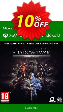 Middle-Earth: Shadow of War Silver Edition Xbox One / PC Coupon discount Middle-Earth: Shadow of War Silver Edition Xbox One / PC Deal - Middle-Earth: Shadow of War Silver Edition Xbox One / PC Exclusive Easter Sale offer for iVoicesoft