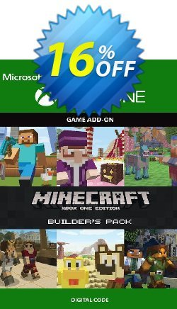 Minecraft Builder's Pack Xbox One Coupon discount Minecraft Builder's Pack Xbox One Deal - Minecraft Builder's Pack Xbox One Exclusive Easter Sale offer for iVoicesoft