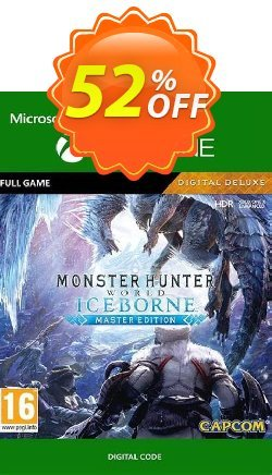 Monster Hunter World: Iceborne - Master Edition Deluxe Xbox One - UK  Coupon discount Monster Hunter World: Iceborne - Master Edition Deluxe Xbox One (UK) Deal - Monster Hunter World: Iceborne - Master Edition Deluxe Xbox One (UK) Exclusive Easter Sale offer for iVoicesoft