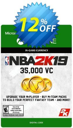 NBA 2K19: 35,000 VC Xbox One Coupon discount NBA 2K19: 35,000 VC Xbox One Deal - NBA 2K19: 35,000 VC Xbox One Exclusive Easter Sale offer for iVoicesoft