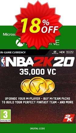 NBA 2K20: 35,000 VC Xbox One Coupon discount NBA 2K20: 35,000 VC Xbox One Deal - NBA 2K20: 35,000 VC Xbox One Exclusive Easter Sale offer for iVoicesoft