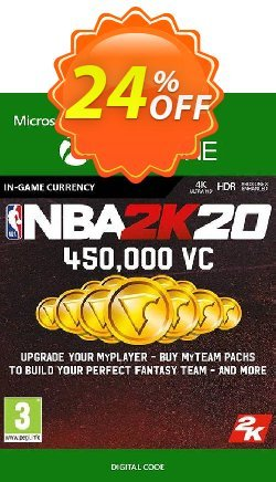 NBA 2K20: 450,000 VC Xbox One Coupon discount NBA 2K20: 450,000 VC Xbox One Deal - NBA 2K20: 450,000 VC Xbox One Exclusive Easter Sale offer for iVoicesoft